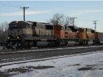 BNSF 9744 West