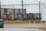 CSX GP40-2 #6960 + Three More