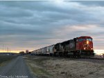 CN at Sunset