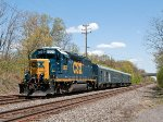 CSX W001-26 Track Geometry Train