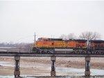 BNSF C44-9W 4697