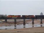 BNSF C44-9Ws 4697 & 1024