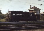 Penn Central 7184 at Bay tower