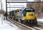 CSX GP38-2 #2762 on Q418-26