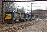 CSX GP40-2 #6159 on C970-28