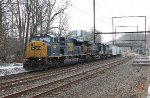 CSX SD80MAC #4593 on Q418-06