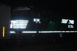 A Surprizing Catch off the Night a Very, Very Brand New Norfolk Southern ES44AC (NS 8136) on a Southbound Manifest Train heading to Kansas City.