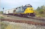 CSX 2775 on the lead of the local