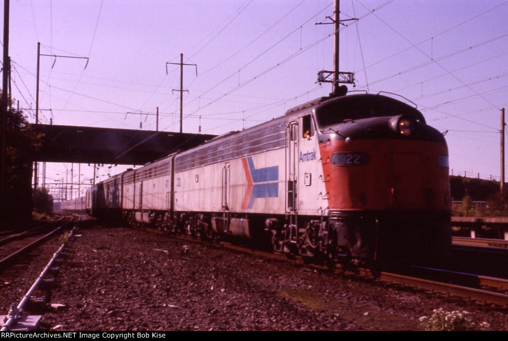 "Amtrak Train 30, ""The National Limited,"" eastbound"