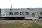 rebuilt pullman car on the Massif tourist train