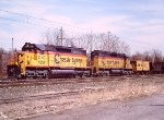 1985- Chessie C&O SD40's in Helper Service