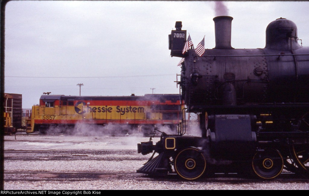 SRC 7002 at the Center Street Engine Facility