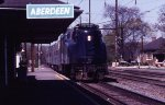 Amtrak southbound GG1 at Aberdeen