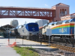 Tri-Rail 807 meets the Silver Palm