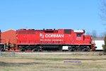 RJC GP38 7681 trailing