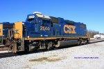 CSX GP38-2 2544 awaits assignment