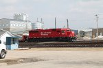 CP in Dubuque, Iowa yard