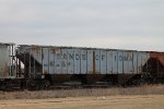 NAHX 46116 Covered Hopper in CNs Dubuque Yard