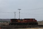 CP AC4400 waiting in the Dubuque yard.