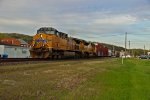 UP 5611 takes a Freight Wb,