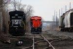 Setting off the CN Locomotive