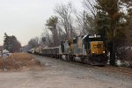 CSX Q434 with a SD50-2 leading a CW40-8.