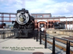 CP 2317 on turntable at Steamtown 9/24/04