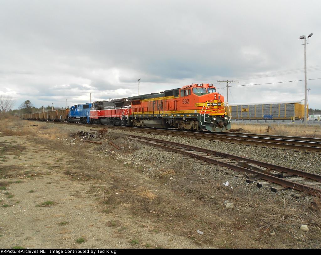 PW 582, PW 4006 & GMTX 9059