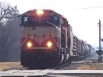 BNSF SD70MAC 9812