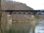 WM bridge over the Potomac at Paw Paw