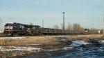NS Empty Coal in SK Yard