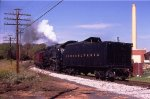PRR 1361 arriving at Hollidaysburg
