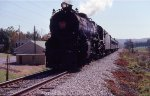 PRR 1361 leaving Hollidaysburg