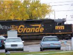 UP 1448 former Rio Grande with gold cab marking
