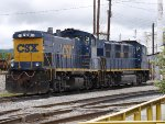 CSX 1170 and CSX 1325 at South Charleston, WV