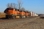 BNSF 6631 fly's Wb.