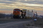 BNSF 7098 a newer c4 heads wb.