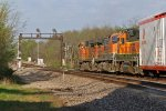 BNSF 2865 Gp 39-2 on a Wb freight.