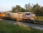 BNSF 925 leading empty coal with another ATSF unit.