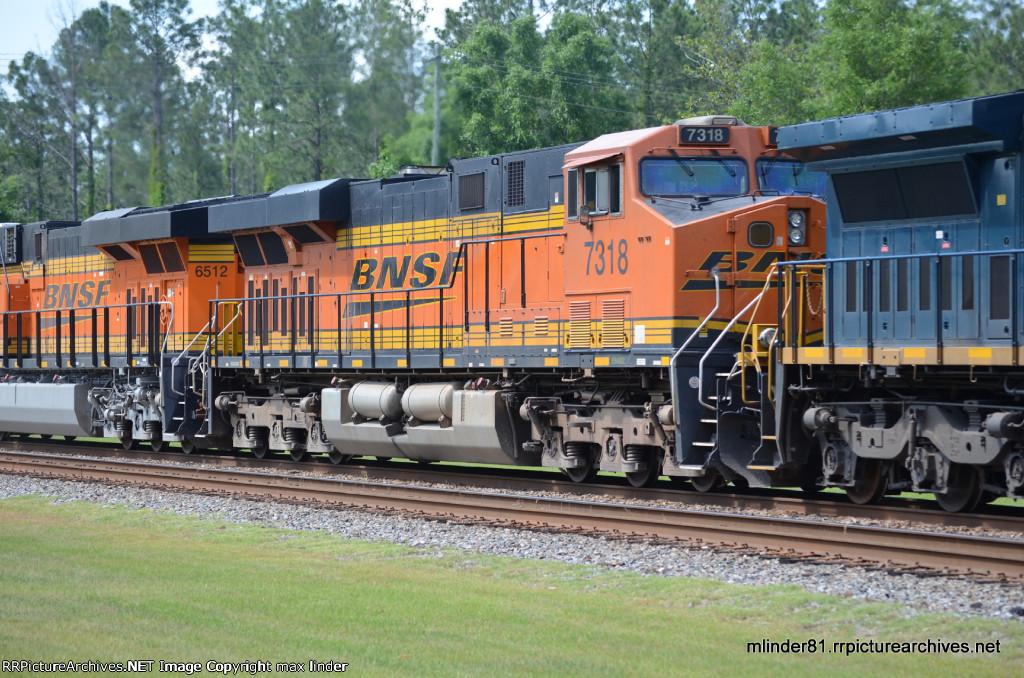 BNSF 7318