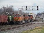 BNSF C44-9W 4019