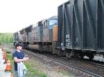 Dropping some train at Palmer