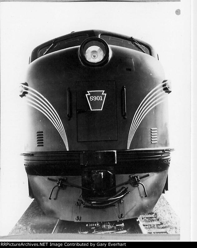 PRR E7A 5901 - Pennsylvania RR