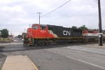 CN 5734  and BCOL 4625 - Canadian National (and a formerly British Columbia Rail unit)
