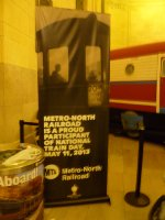 Metro-North National Train Day at Grand Central May 11, 2013