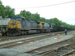 Coal train arrives