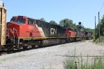 CN 8859, CN 8816, and CN 2261 - Canadian National