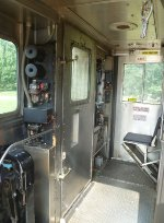Cab of NJ Transit Arrow III Single Unit 1311