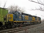 CSX 4034 and 7496