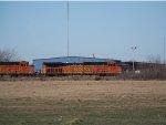 BNSF C44-9Ws 4618 & 5511